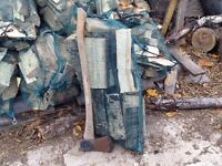 LARGE BAGS OF FIREWOOD