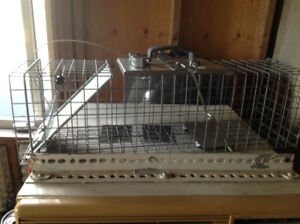 Havahart Easy Set Rodent trap, squirrels, rabbits, skunks, etc
