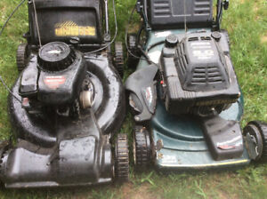 Tondeuse Yard Machines 5HPtraction,125.$, craftsman 6HP100.$