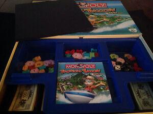 Monopoly Tropical Tycoon board game Oakville / Halton Region Toronto (GTA) image 2