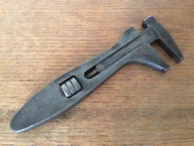 Vintage Large King Dick Wrench, vintage tool