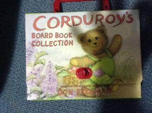 Boxed set of 4 corduroy board books for sale