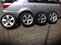 "BMW 17"" spider wheels for sale"