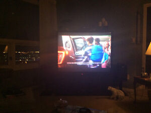 """55""""rear projection television free"""