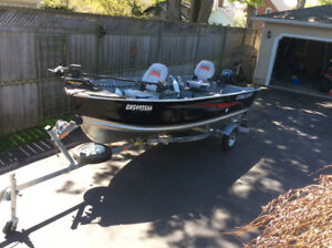 14' Starcraft with 20 hp electric start Yamaha and trailer