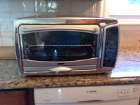 Four-grill/toaster oven