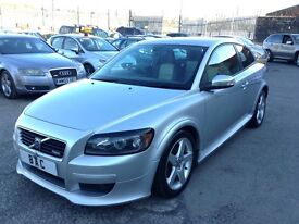 Volvo C30 1.6 D R-Design Sport 2dr ONLY 1 PREVIOUS OWNER FROM NEW 2008 (58 reg), Coupe