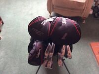 Golf Clubs - All carbon shafts
