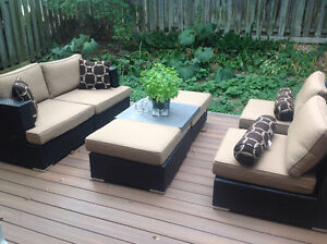 Patio Furniture Cushions Only for Niko Sectional - Item# 38421