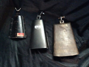Percussion (Cowbells, Shaker & Percussion Rack)