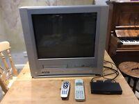 TV + DVD + VHS