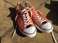 Converse Size 11 Orange