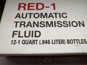 RED-1 AUTOMATIC TRANSMISSION FLUID Cornwall Ontario image 1