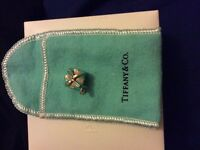 Authentic Tiffany & co. Blue gift box charm