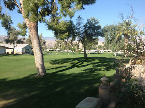 Palm Desert Greens triple wide mobile home for rent