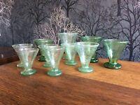 Glasses - Green x 10 Arts & Craft