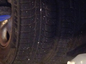 Michelin Snow Tires and Rims