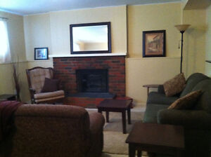 1100 sqft. furnished private entrance, utilities, Wi-Fi, cable