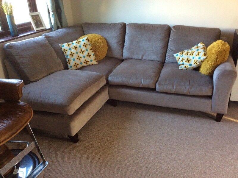 Laura Ashley Grey Corner Sofa In Norwich Norfolk Gumtree