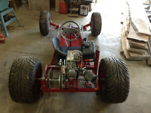 Custom Built T Bucket Go Kart