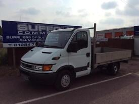 FORD IVECO DAILY-FLATBED-3.5T-2.3TD