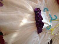 Girls bridesmaid dress age 5 years