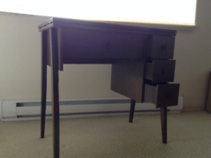 SEWING TABLE and GLASS TABLE