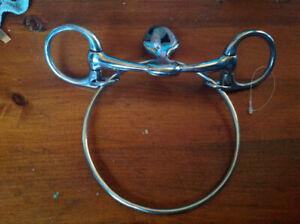 WTP Dexter Ring Bit. Standardbred or Thorobreds
