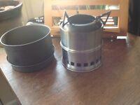 Woodgas cookset