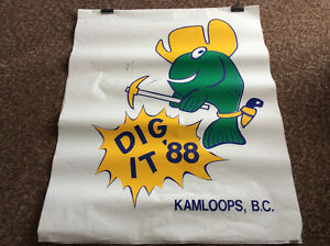 Kamloops Kami the Fish Dig It '88 poster