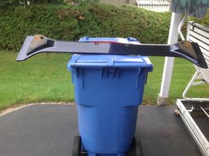 Aileron bleu foncé Honda civic