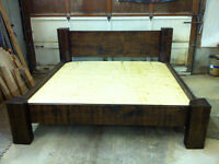 NEW RUSTIC PINE KING SIZE BED FOR SALE