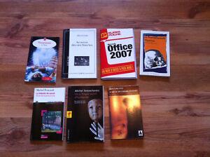 Romans de CÉGEP à vendre - College novels to sell