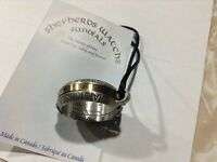 Sundial ring necklace
