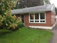 Orillia: 3+1 bedroom home with garage, private yard; Aug 15