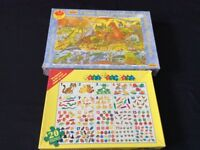 X2 children wooden hand cut jigsaw age 2 to 5 years