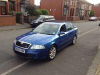 2007 SKODA OCTAVIA VRS 2.0 TDI 170 BHP not VW golf gt tdi seat Leon Audi a3 a4 Quattro Passat