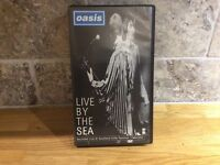 Oasis Live by the sea VHS video