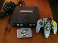 ** N64 + Controller + Game **