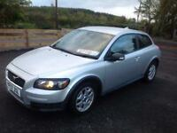 Volvo C30 1.6 COUPE S, 57 REG, GOOD HISTORY, 1.6 ENGINE, SPORTY H/B