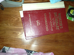 Websters Dictionary for sale
