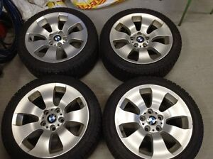 Michelin X-Ice Snow tires / BMW rim package