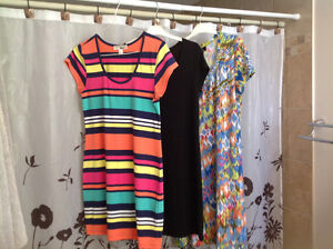 3 size large (10/12) casual summer dresses