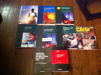 Excellent used condition Paralegal/Law Textbooks for Sale