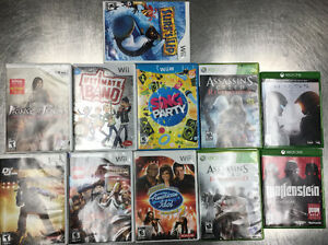 Various Video Games for sale - Xbox One, 360, Wii and Wii U