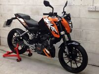 KTM Duke 125 Only 2769 miles. Delivery Available *Credit & Debit Cards Accepted*