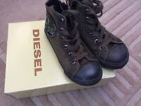 Children's Green Diesel Boots