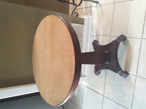 BIG Gorgeous round hall table, accent table..