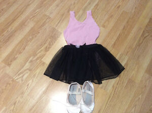 Size 4-5 t ballet outfit