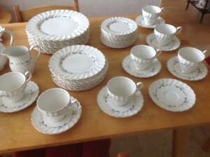 Set of Dishes for 10 by Myott of England
